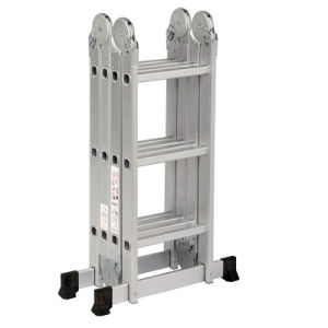 Aluminum Multi-Purpose Ladder with 12 Steps pictures & photos