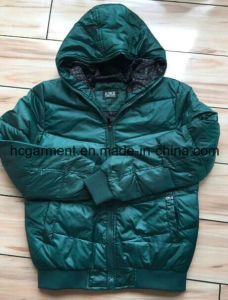 Stock/Spots Jackets, White Duck Donw Hoody Winter Jackets for Man. pictures & photos