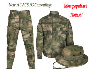 New a-Tacs Fg Camouflage Amry Suit Military Uniform (WS20905) pictures & photos