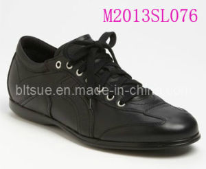 Leather School Shoes (M2013SL076) pictures & photos