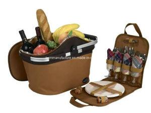 Aluminum Handle Promotional Picnic Bag (KM4361) pictures & photos