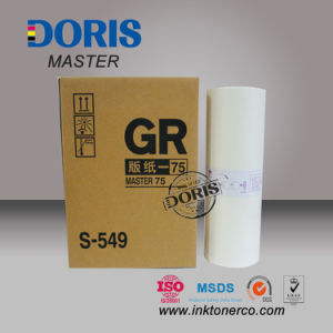 Gr A3 Duplicator Master 75W S-549 Ra B4 A4 for Riso pictures & photos