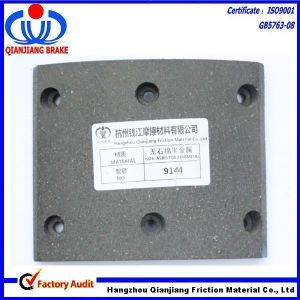 High Performance, Free Sample, Precision Drilling Brake Lining 9144