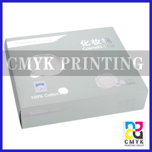 Cosmetic Makeup Pad Packaging Box pictures & photos