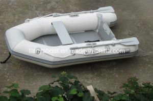 Liya 2.7m CE Certification Inflatable PVC Small Boat Aluminium Fishing Boats pictures & photos