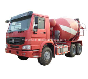 Sinotruk HOWO 6X4 336HP Heavy Cement Mixer Truck (ZZ5257GJBN3841W)