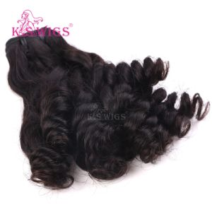 8A Grade Funmi Curly Virgin Human Hair Weft Brazilian Remy Hair pictures & photos