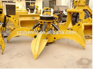 5 Teeth Hydraulic Grapple for Excavator / Orange Peel Grab pictures & photos