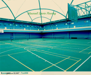 PVC / Vinyl Outdoor Sports Flooring Surface pictures & photos