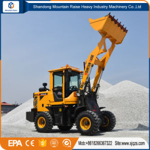 Hydraulic 4W Construction Mini Wheel Loader pictures & photos