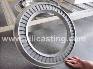 Raiway Diesel Locomotive Turbocharger Nozzle Ring in Stainless Steel and Super Alloy Material