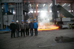 The Wind Towers and Pipes with Large Diameter Forged Flange pictures & photos