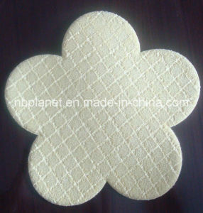 Microfiber Kitchen Sponge Pad in Flower Shape pictures & photos