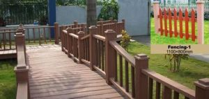 Outdoor Cheap Composite WPC Garden Fencing From China pictures & photos
