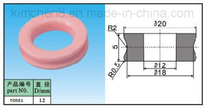 Ceramic Wire Guide Pulley (TC21-1) Alumina Ceramic Roller/Textile Wire Guide Pulley pictures & photos