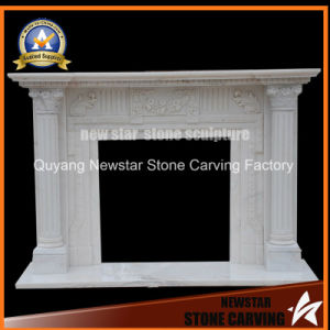 Stone Fireplace Granite Fireplace Mantel Marble Fireplace Surround pictures & photos