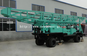 Trailer Mounted Water Well Drill Rig (BZT-450)