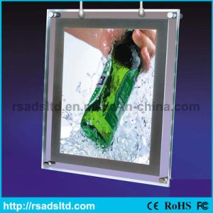 Popular Double Side LED Crystal Light Box pictures & photos