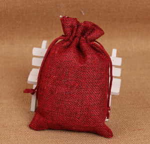 "Natural Jute Pouches 5 X 7"" pictures & photos"