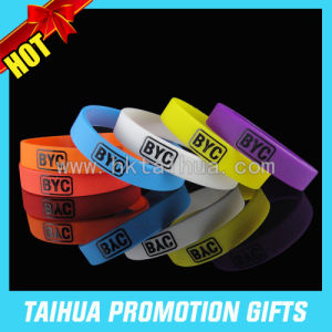 Personalized Silicone Bracelets with Printed Silicone Wristband (TH-08879) pictures & photos