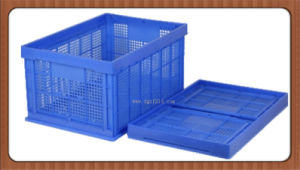 New Zealand Customized Plastic Folding Basket for Storage Manufacturer pictures & photos