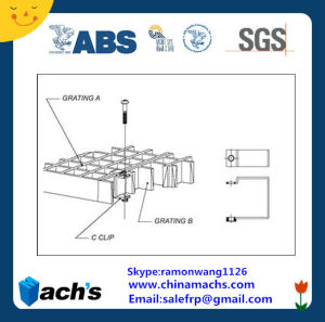 C Clips for FRP Grating/Steel Grating Clips 316s/S/Ss304 pictures & photos
