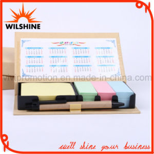 Good Quality Kraft Notepad with Calendar for Promotion Gift (GN022) pictures & photos