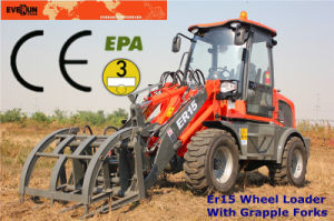 Everun CE Approved 1.5ton Multifunctional Mini Wheel Loader pictures & photos