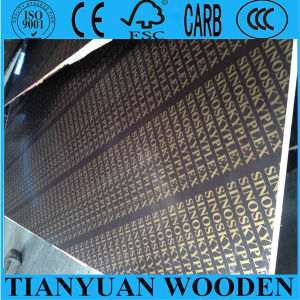 18mm Shuttering Film Faced Plywood pictures & photos