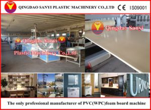 Plastic Machinery-PVC Skinning Foam Board Extrusion Line pictures & photos