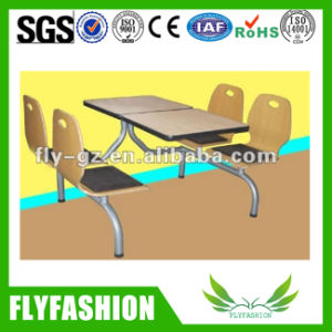 Modern Dining Table and Chair for Kfc & Mcdonald′s (SF-89C) pictures & photos