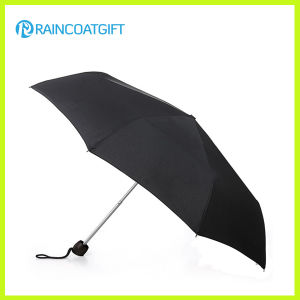 Black Travel Premium Automatic Folding Umbrella pictures & photos