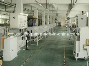 Silicone Gel Cable Extrusion Line Cable Extrusion Machine pictures & photos