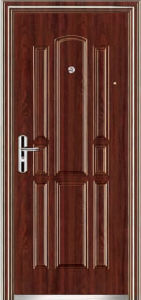 Top Quality Economic Single Steel Doors (EF-S026) pictures & photos
