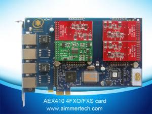 3 FXO + 1 FXS Asterisk Card Aex410 Support Asterisk /Trixbox/Elastix