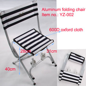 Aluminum Folding Chair for Fresh Water Fishing