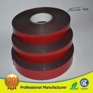 Good Adhesion Double Sided PE Foam Tape pictures & photos