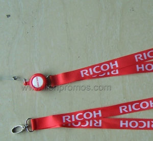 Ricoh Logo Printed Trade Show Company ID Lanyard pictures & photos