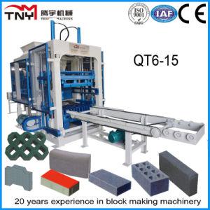 Automatic Qt6-15 Concrete Hollow Block, Solid Brick, Interlocking Paver Making Machine pictures & photos
