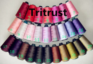 100% Polyester Yarn Sewing Thread (20s/2-60s/2) pictures & photos