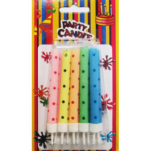 Dots Birthday Party Candles (SYC0064)