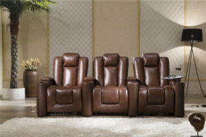 Home Furniture Recliner Leather Sofa Model 929 pictures & photos