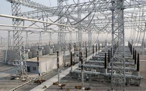 110 Kv Steel Lattice Substation Structure pictures & photos
