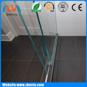 1000mm 1300mm Shower Case Cabinet Tempered Partition Glass Panel Company