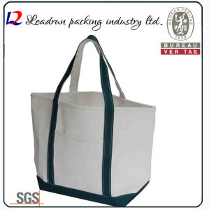 Gift Paper Nonwoven Shopping Bag Leather Cotton Canvas Handle Shopping Bag (X039) pictures & photos