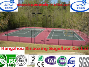 with Itf, SGS, RoHS Standard Outdoor Tennis Court Interlocking Sports Floor pictures & photos