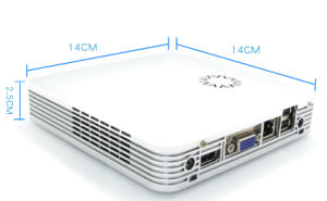 Super Mini PC with Intel Celeron 1037u Dual Core CPU (JFTCX3700M) pictures & photos