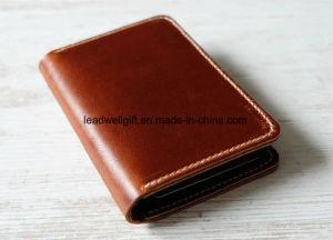 Genius Leather Wallet Mens Minimalist Card Travel Bag pictures & photos