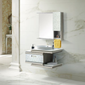 High Quaity Stainless Steel Bathroom Cabinet (T-9485) pictures & photos