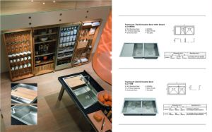 Stainless Steel Single Bowl Kitchen Sink (sgp-006) pictures & photos